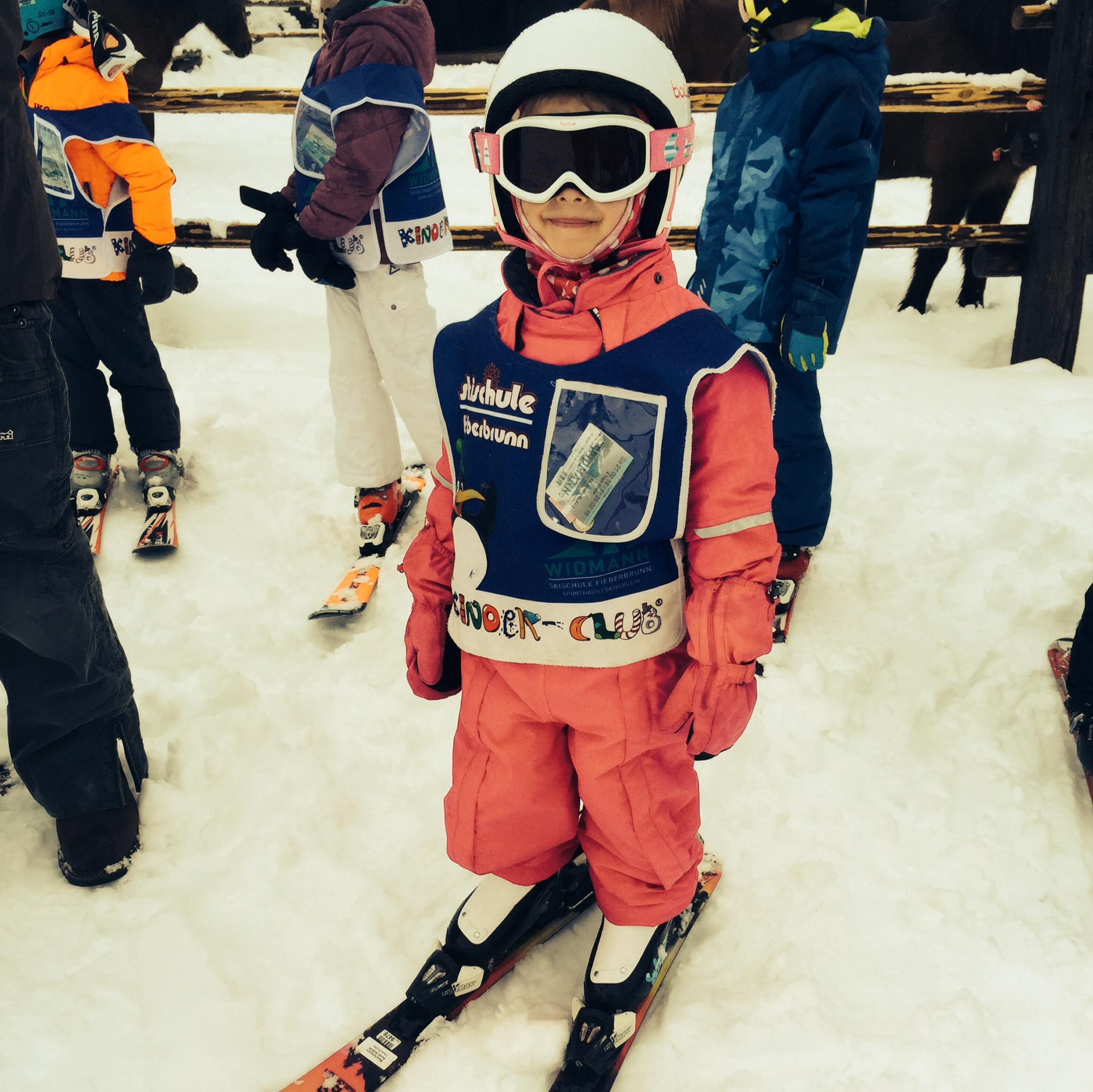 Sarah Sophies zweiter Skikurs, Februar 2016, Fieberbrunn