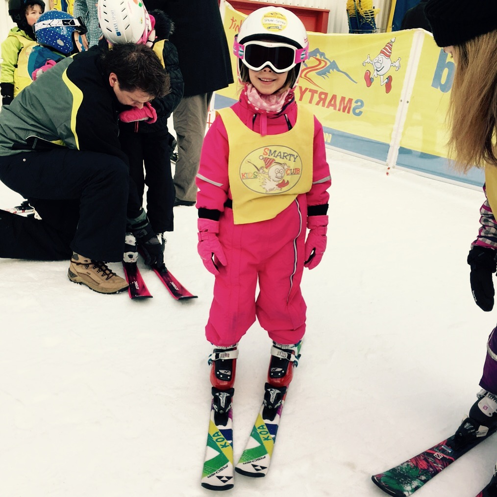 Sarah Sophies dritter Skikurs, Mauterndorf, AT, Dezember 2016