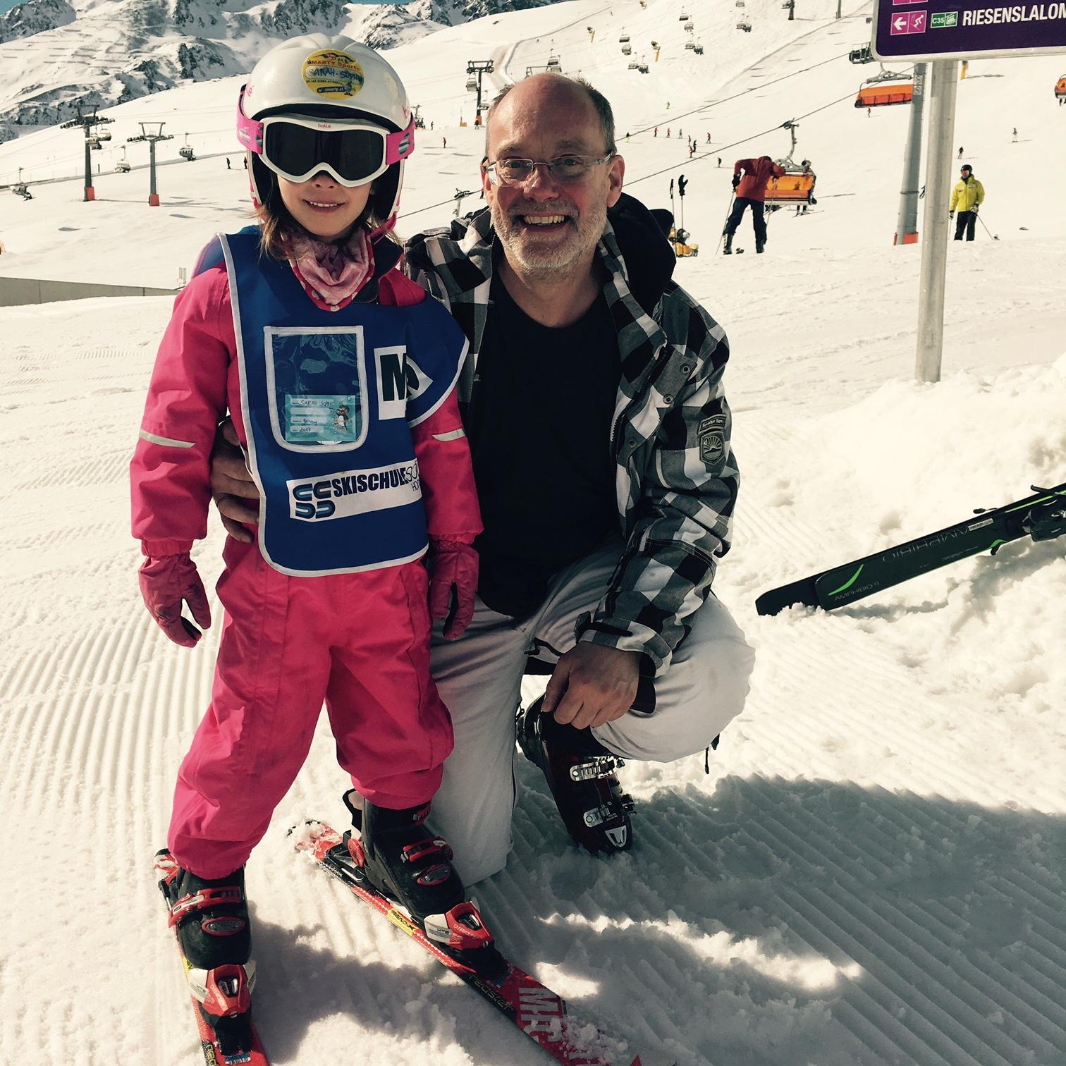 Sarah Sophies vierter Skikurs, Sölden, AT, März 2017