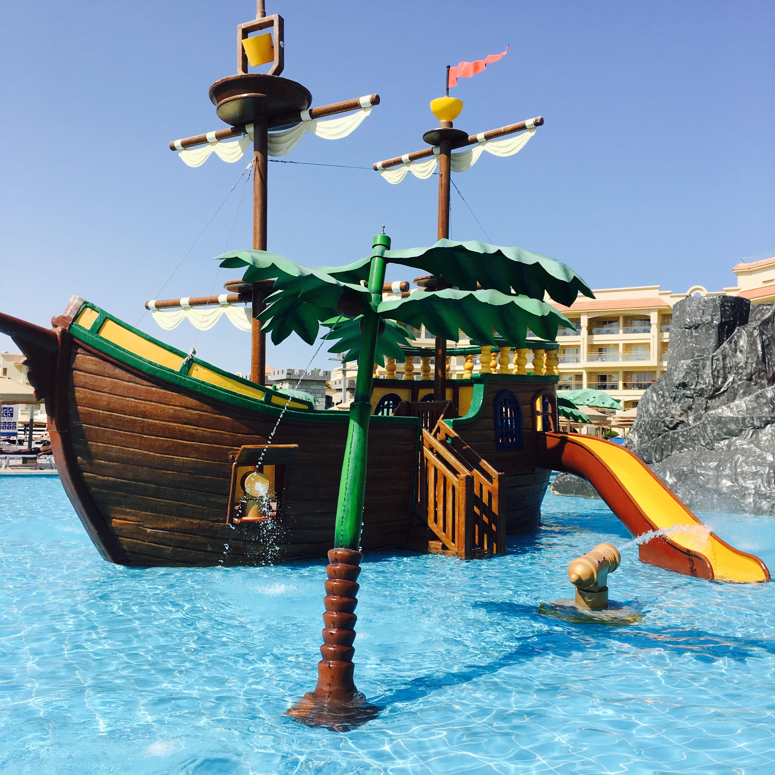 """Piratenschiffhotel-Urlaub"", Hurghada, EGY, Oktober/ November 2017"