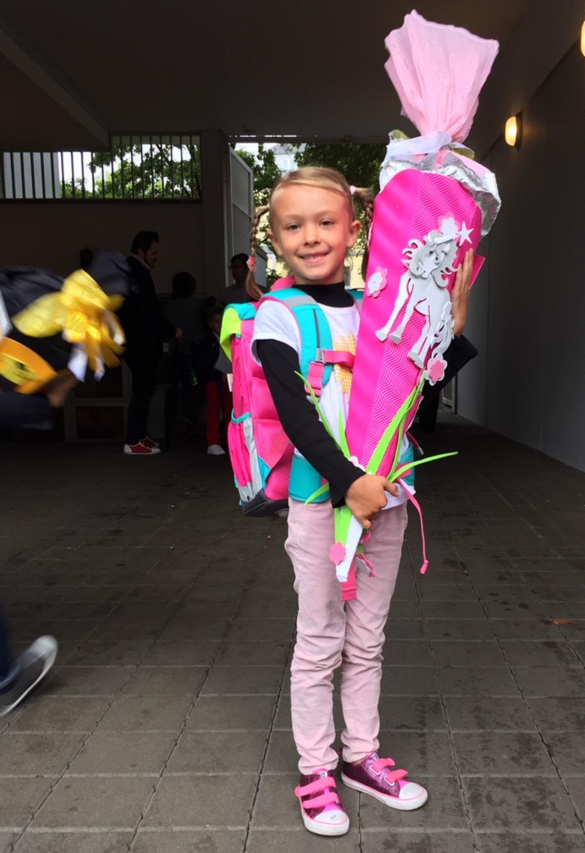 Ab jetzt also ein Schulkind, Düsseldorf, September 2017